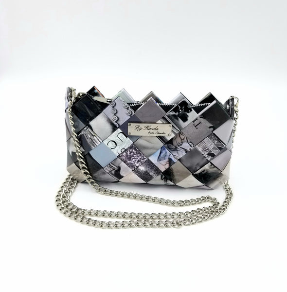 """LILI"" Purse Grey - By Hands from Claudia"