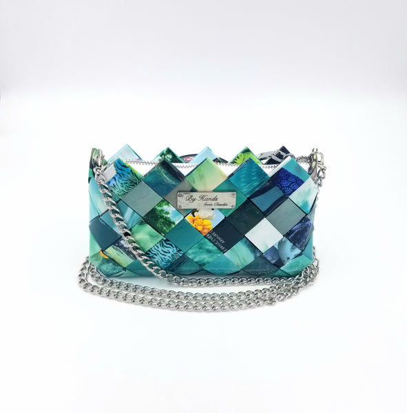 """Lili"" Purse Turquoise - By Hands from Claudia"