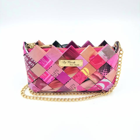 """LILI"" Purse Pink - By Hands from Claudia"