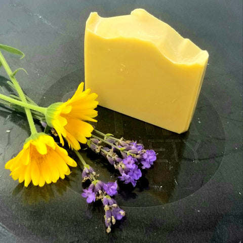 I am Loved Natural Soap - Shea/Calendula/Lavender / Sensitive skin