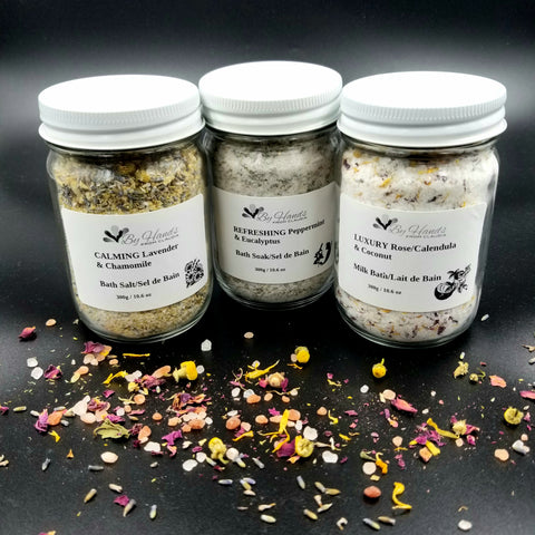 LUXURY & CALMING & REFRESHING Bath Salts