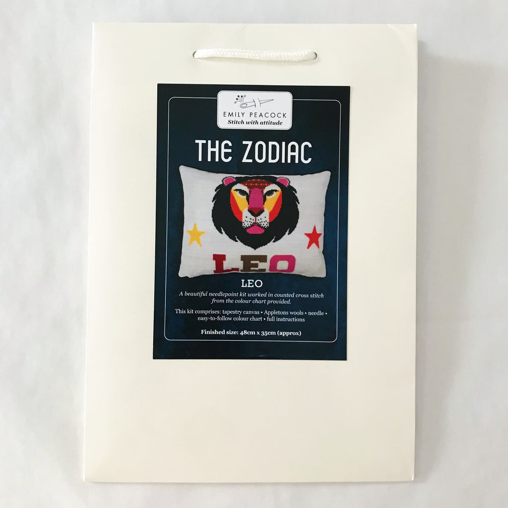 The Zodiac Pillow Kit - Leo