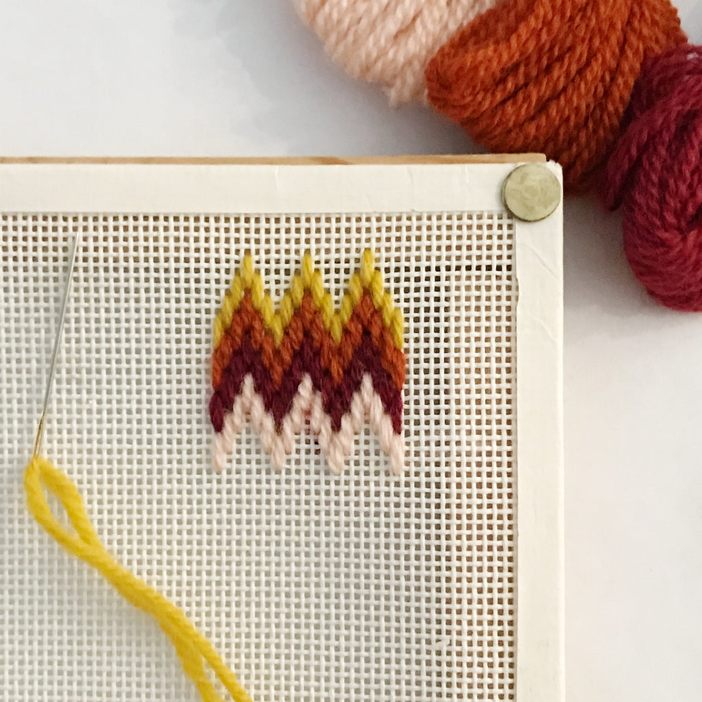 Intro to Needlepoint (VIRTUAL)