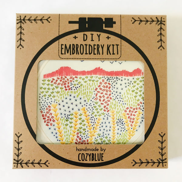 Evening Walk Embroidery Kit