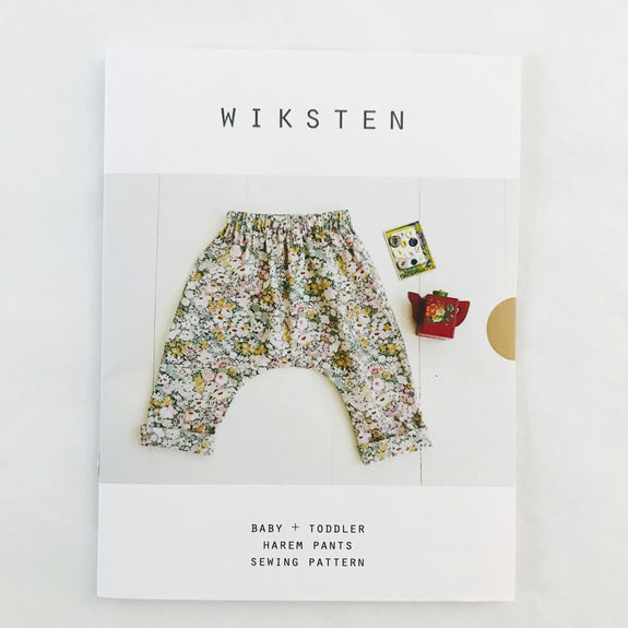 Baby Harem Pants Sewing Pattern – Make Workshop
