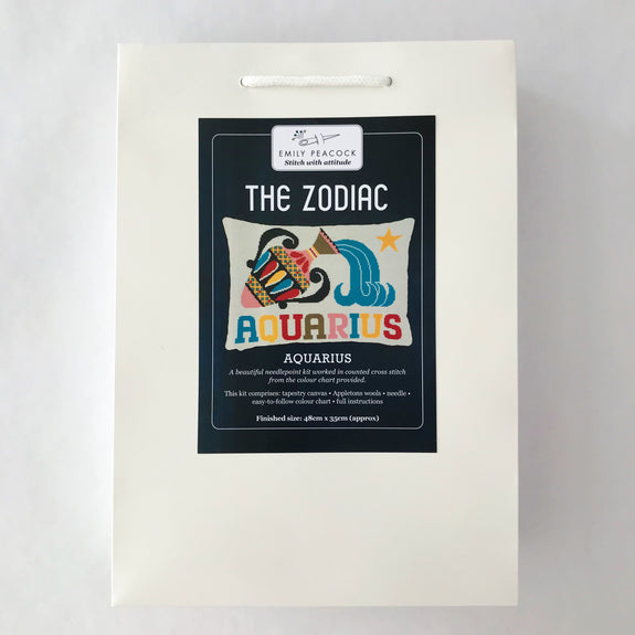 The Zodiac Pillow Kit - Aquarius