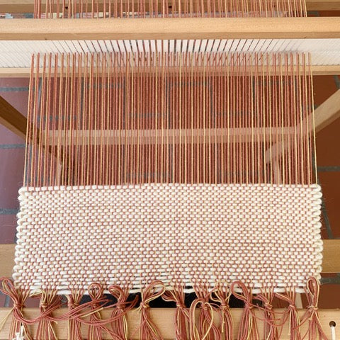 Intro to Weaving on a Loom with @salt.textile.studios