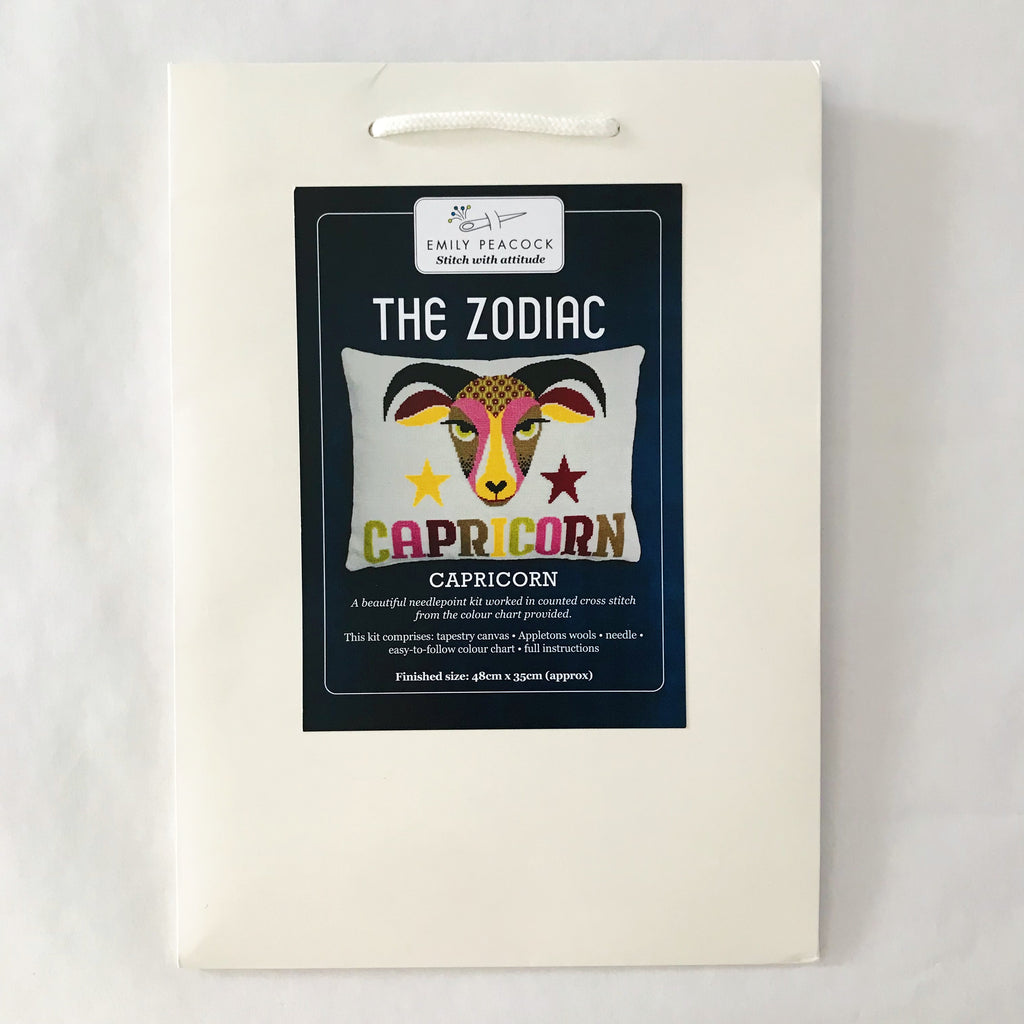 The Zodiac Pillow Kit - Capricorn