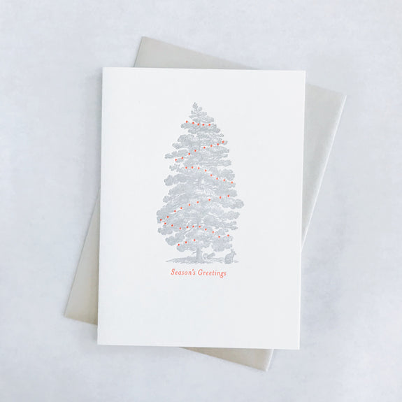 Pine Tree Holiday Card