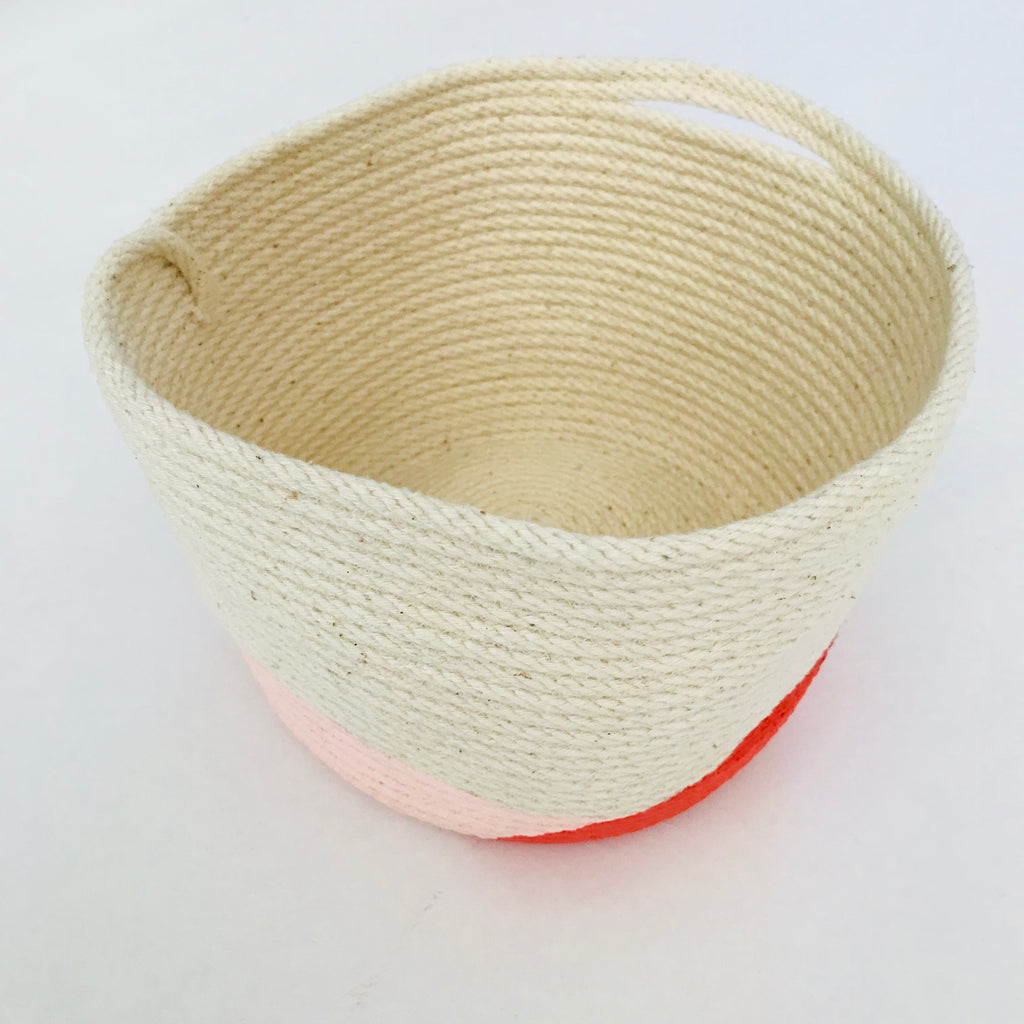 Basket (Pink/Orange)
