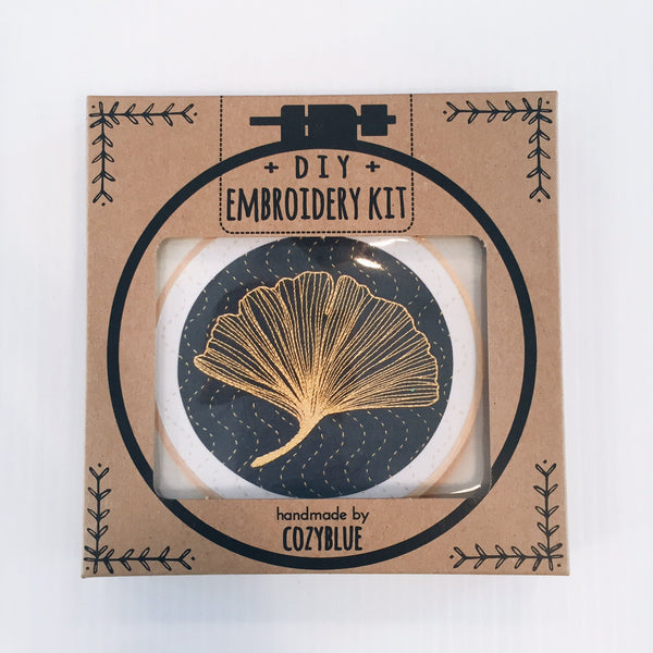 Gingko Embroidery Kit
