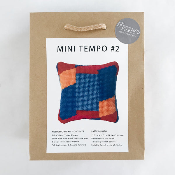 Mini Tempo #2 Needlepoint Kit