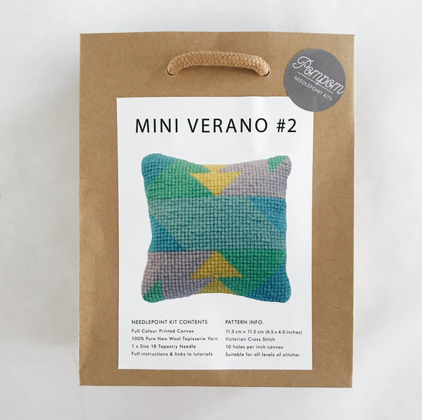 Mini Verano #2 Needlepoint Kit