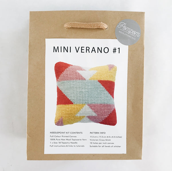 Mini Verano #1 Needlepoint Kit
