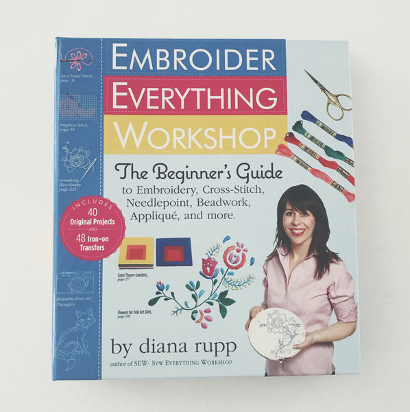 Embroider Everything Workshop (Signed copy)