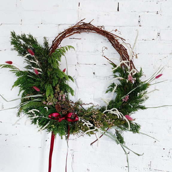 Wreath Making Workshop + Party