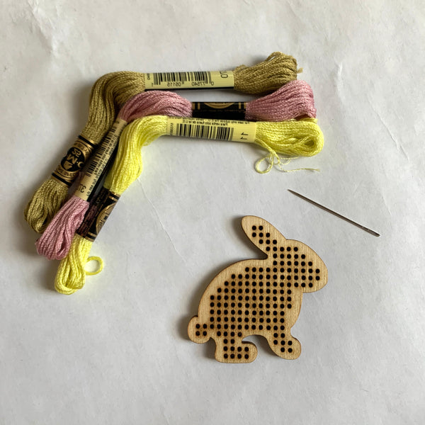 Bunny Cross Stitch Kit