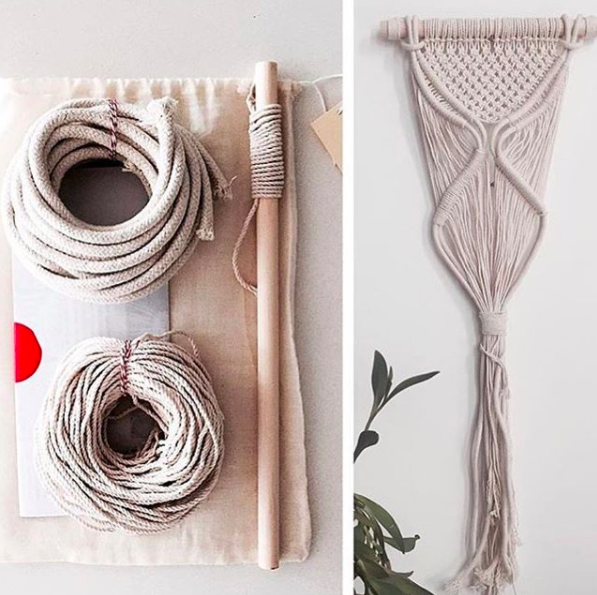 Macramé Wall Hanging Kit