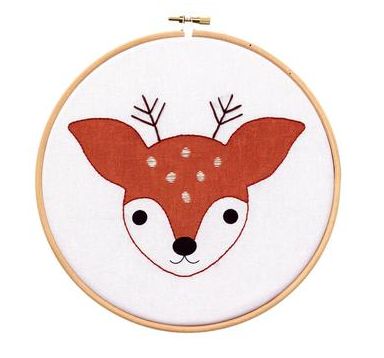 Fawn - Hoop Art Kit