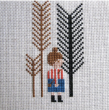 Walk in the Woods Cross Stitch Kit