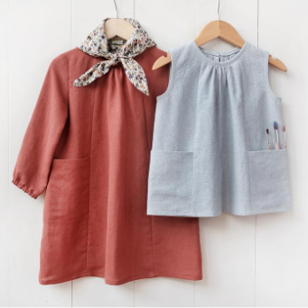 Baby + Child Smock Top + Dress Sewing Pattern