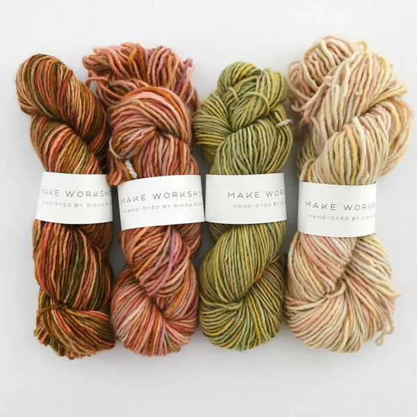 Handdyed Yarn by Diana Rupp