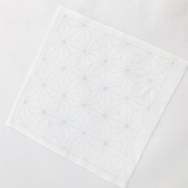 Sashiko Sampler - White (5 designs)