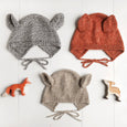 Baby + Child Animal Bonnet Knitting Pattern