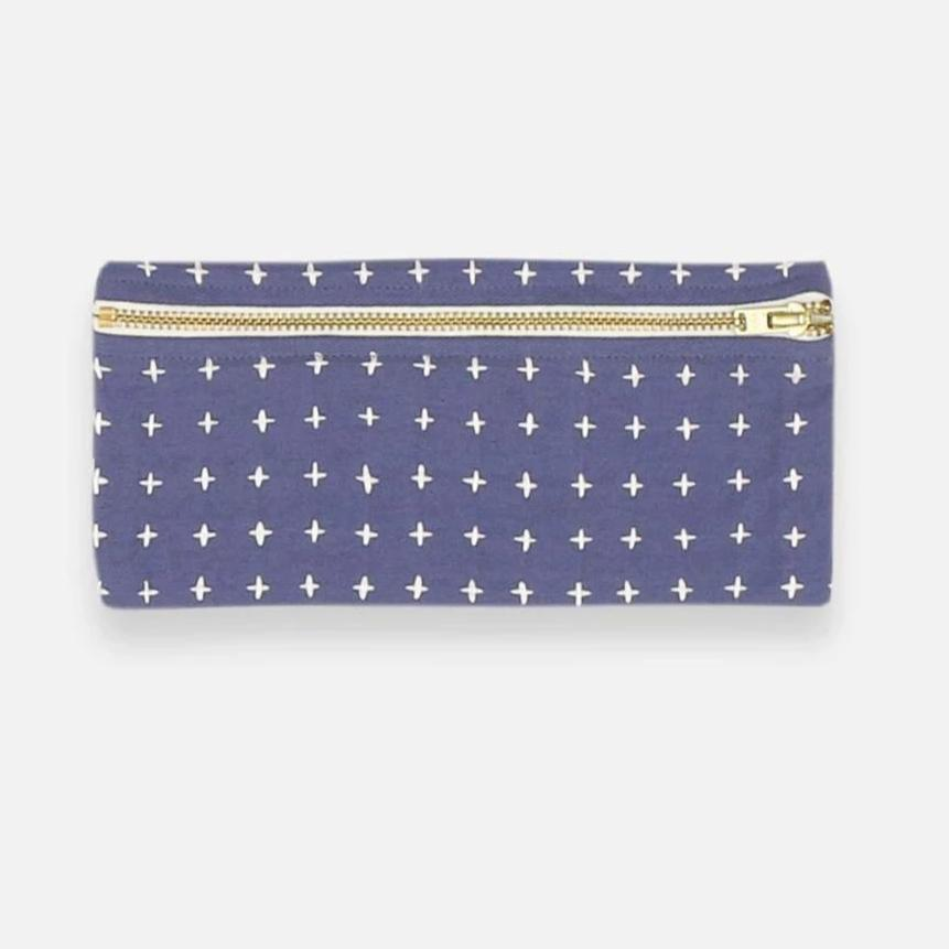 Cross-Stitch Pencil Case (6 colors)