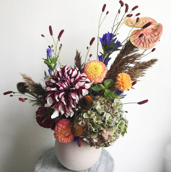 Patchwork Floral Arranging with @extrafloral