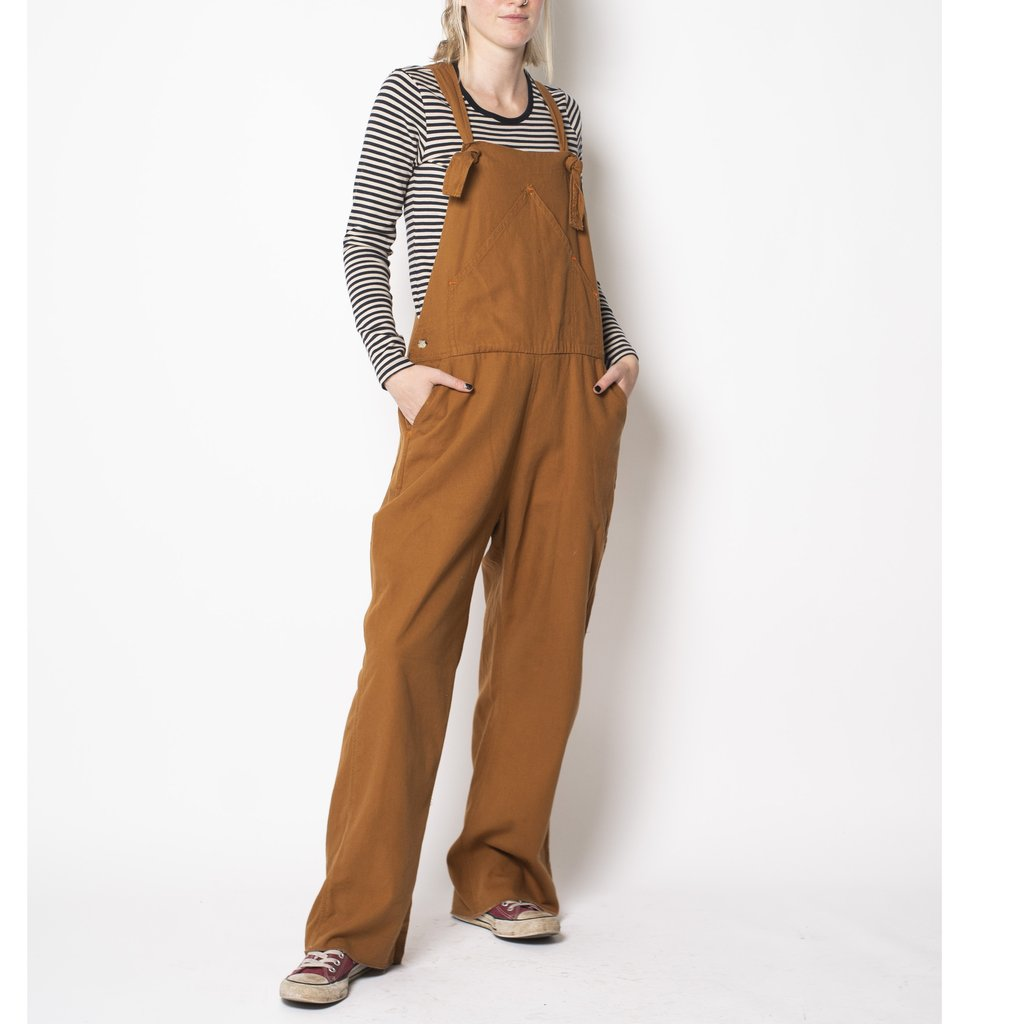 Utility Canvas Overalls - Honey