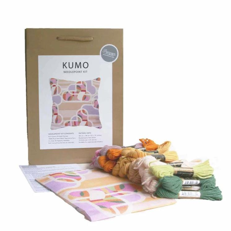 "Pillow ""Kumo"" Needlepoint Kit"