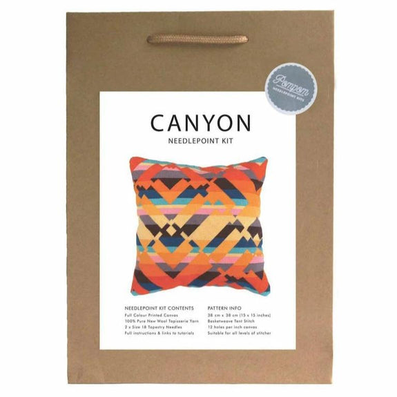 "Pillow ""Canyon"" Needlepoint Kit"