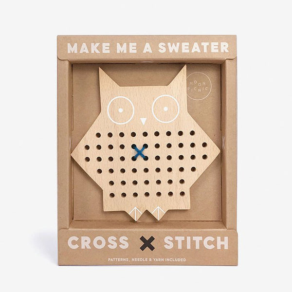 Cross-Stitch Friends Owl