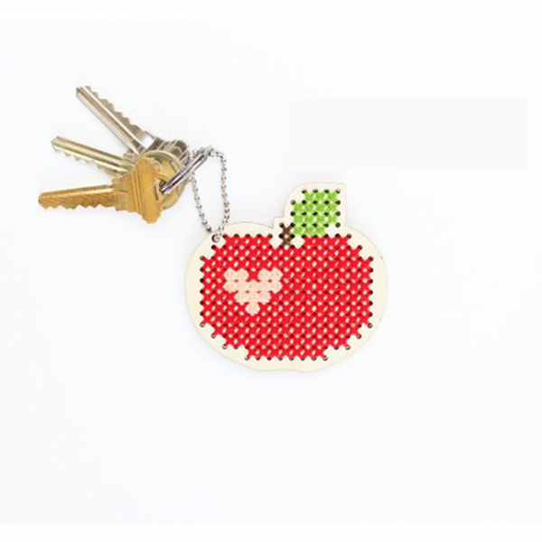 Red Apple Cross Stitch Kit