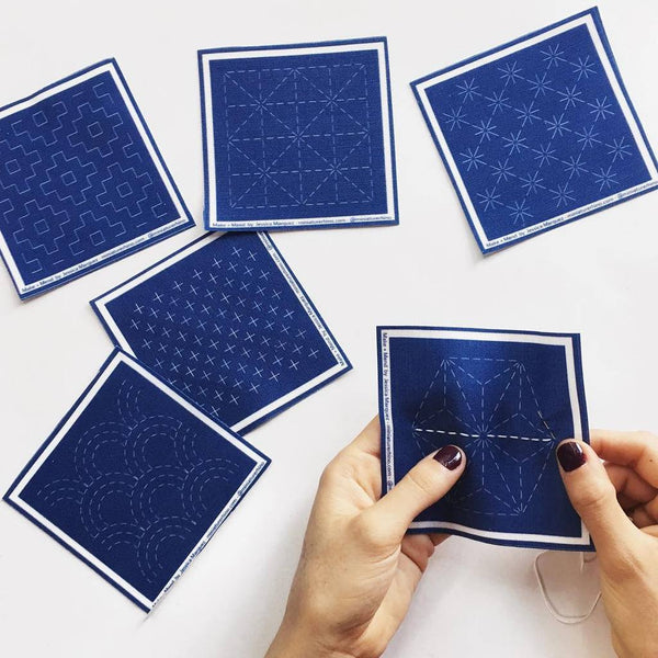 Sashiko Mini Sampler