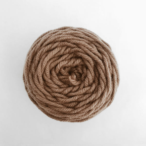 Tan Rug Wool Yarn