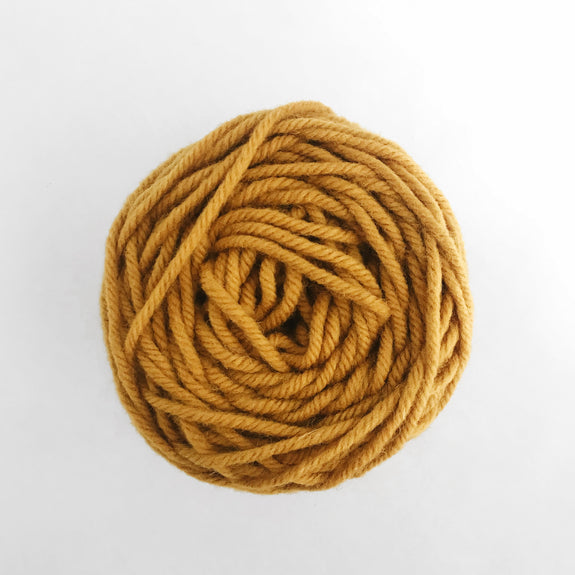 Gold Rug Wool Yarn