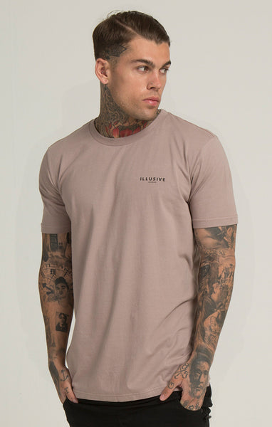 Illusive London - Parachute Tee -Beige
