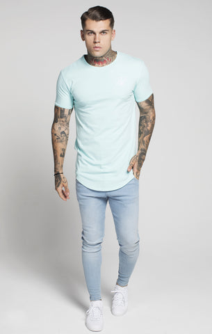 Sik Silk - Short Sleeve Gym Tee - Mint
