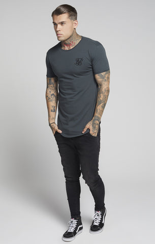 Sik Silk - Short Sleeve Gym Tee - Grey