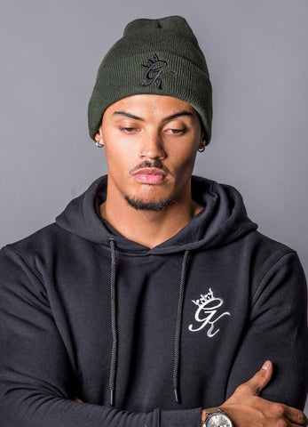 Gym King - Burnt Olive Beanie