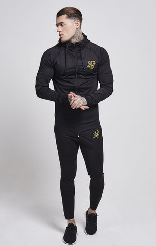Sik Silk - Zonal Track Pants - Black & Gold