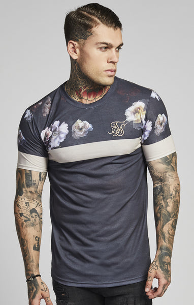 Sik Silk - Curved Hem Sports Tee - Antique Rose