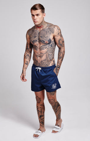 Sik Silk -  Standard Swim Shorts - Navy
