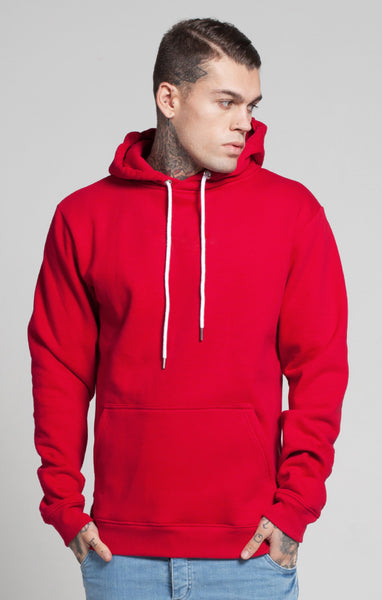 Illusive London - Oversize Kangaroo Hoodie - Crimson