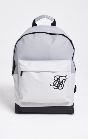 Sik Silk - Pouch Backpack - Grey & White