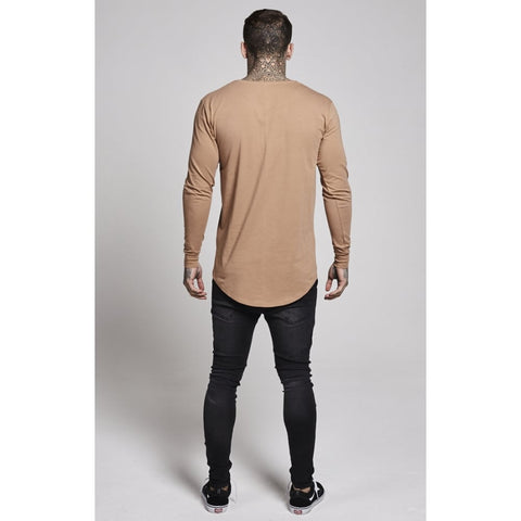 Illusive London - Long Sleeve Tee - Brown
