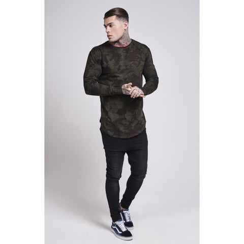 Illusive London - Long Sleeve Tee - Camo