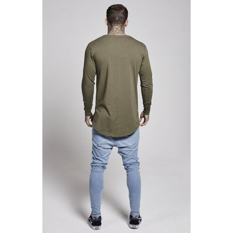 Illusive London - Long Sleeve Tee - Khaki